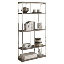 "Meade 72"" Accent Shelves Bookcase"