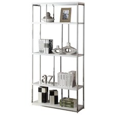 "Meade 72"" Accent Shelves Bookcase"