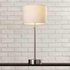 "Hause 25.5"" H Table Lamp with Drum Shade"