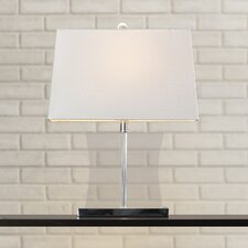 "Salcha 23.5"" H Table Lamp with Rectangular Shade"