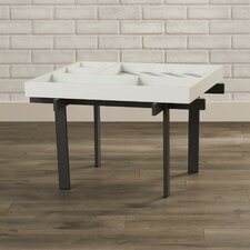 Sauder Boutique Objeti Coffee Table with Tray Top