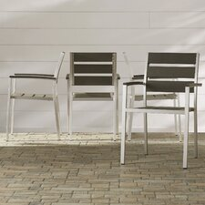 Galicia Stacking Dining Arm Chair (Set of 4)