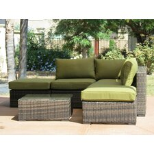 Lara 6 Piece Deep Seating Group with Cushions