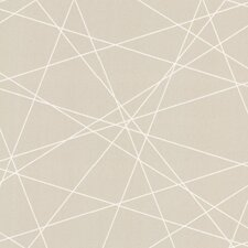 "Lederer Criss Cross 33' x 20.5"" Geometric 3D Embossed Wallpaper"