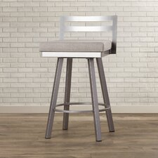 "Caudillo 26.75"" Swivel Bar Stool"