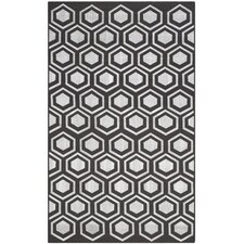 Barrier Charcoal Area Rug