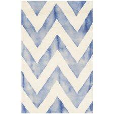 Chou Ivory/Blue Area Rug