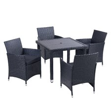 Mercer 5 Piece Outdoor Dining Set with Cushion