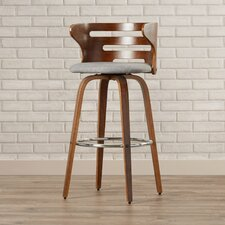 "Lucey 29"" Swivel Bar Stool"