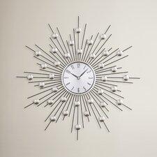 "Lowe 20"" Metal Wall Clock"