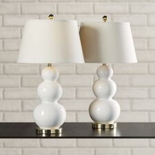 "Monroy 27"" H Table Lamp with Empire Shade (Set of 2)"