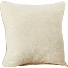 Seman Solid Cotton Throw Pillow (Set of 2)