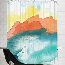 Amy Brinkman Abstract 3 01 Shower Curtain