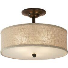 Havens 3 Light Semi Flush Mount