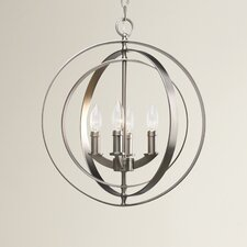 Morganti 4 Light Candle Chandelier