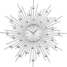"Lowe 20"" Metal Wall Clock"