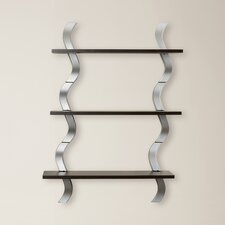 Waves 3 Level Wall Shelf (Set of 3)