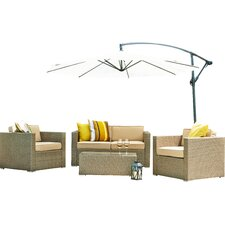Dunarragan 5 Piece Seating Group with Cushion
