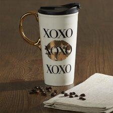 Swinson XOXO Ceramic 17 oz. Perfect Cup