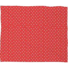 Garling Dots Plush Fleece Throw Blanket