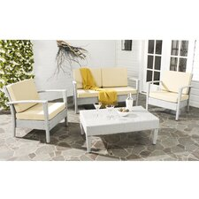 Piscataway 4 Piece Outdoor Dining Chair Cushion Set