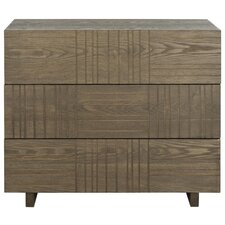 Funderburg 3 Drawer Chest