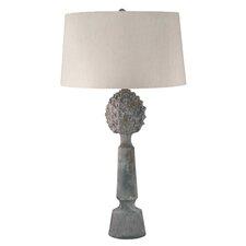 "Belliveau Earthenware Pineapple Top Ceramic 30"" H Table Lamp"