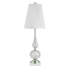 "Alphin Venetian Glass Hand Blown 33"" H Table Lamp with Empire Shade"