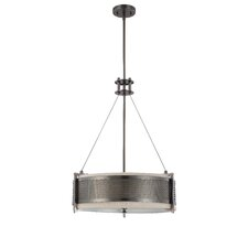 Ferriera 6 Light Drum Pendant