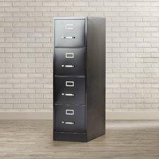 Kane 4 Drawer Commercial Letter Size File Cabinet