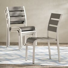 Galicia Stacking Dining Side Chair (Set of 4)