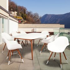 Thomas Milwaukee Patio 9 Piece Dining Set