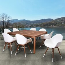 Thomas Tucson Patio 9 Piece Dining Set