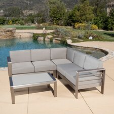 Cressey 4 Piece Seating Group with Cushions