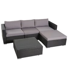 Murillo 5 Pieces Seating Group with Cushion