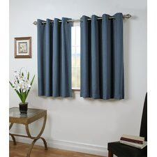 Louie Short Room-Darkening Single Curtain Panel