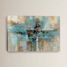 """Morning Fjord"" by Silvia Vassileva Painting Print on Wrapped Canvas"