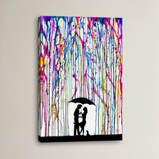 Two Step Graphic Art on Wrapped Canvas
