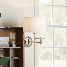 Smithfield 1 Light Swing Arm Wall Sconce