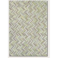 Loranger Lemon Grass/Gray Area Rug