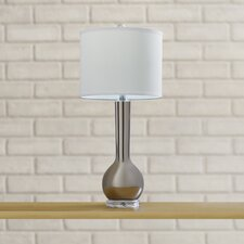 "Mcnally Long Neck 28"" H Table Lamp with Drum Shade"