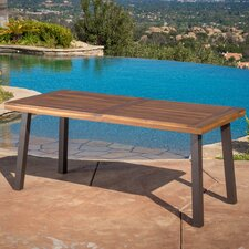 Mulligan Outdoor Wood Dining Table
