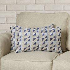 Rosenbloom Linen Lumbar Pillow (Set of 2)