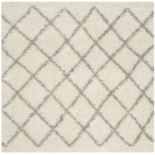 Hulsey Ivory/Grey Area Rug
