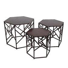 Volkonskaya 3 Piece Nesting Tables
