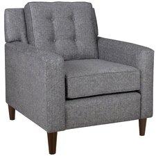Muniz Herringbone Arm Chair