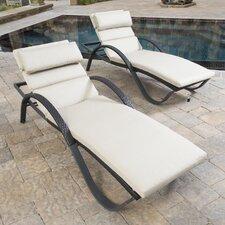 Ahmad Lounge with Cushions (Set of 2)