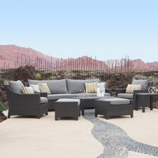 Ahmad 8 Piece Seating Group with Cushions