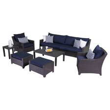 Ahmad 7 Piece Deep Seating Group with Cushions