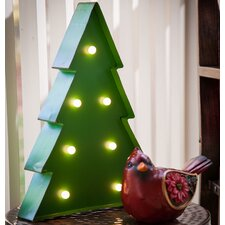 Battery Operated Light Up Christmas Tree Outdoor Wall Décor